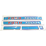 DEC211 - Ford 7000: Mylar Decal Set