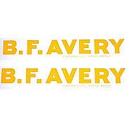 DEC224 - Avery Bf: Mylar Hood Decal, Pair