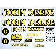DEC241 - JD G Styled Hood 1947-52: Mylar Decal Set