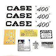 DEC263 - Case 400 Script: Mylar Decal Set