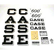 DEC264 - Case 600 Script: Mylar Decal Set