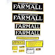 DEC266 - IH Farmall Regular: Mylar Decal Set