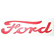 DEC292 - Vinyl Die Cut Ford Script Decal (1 Piece)