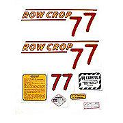 DEC324 - Oliver 77 Rowcrop: Mylar Decal Set