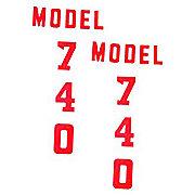 DEC347 - Ford 740 1955-57: Mylar Hood Decals, Pair