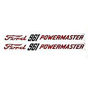 DEC361 - Ford 961 Powermaster: Mylar Decals