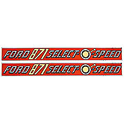 DEC365 - Ford 871 Select-O-Speed: Mylar Decal Seat