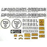 DEC376 - MC D WD9 1939-44: Mylar Decal Set