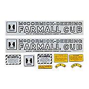DEC397 - MC D Farmall Cub 1947-49: Mylar Decal Set