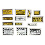 DEC417 - 13 Piece Mylar Miscellaneous Decal Set (IH 300 Gas)