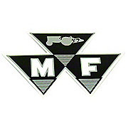"DEC435 - MF Models: Mylar Decal 4"" 1-Piece Triple Triangle Logo"