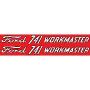 DEC437 - Ford 741 Workmaster: Mylar Decal