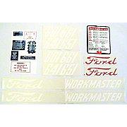 DEC445 - Ford 601 Series 1958-62:  20 Piece Mylar Decal Set