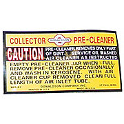DEC447 - Decal For IH Precleaners, Collectors