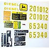 DEC449 - COMPLETE MYLAR DECAL SET