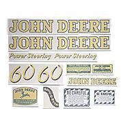 John Deere Aufkleber Schaltschema für Traktor Typ 1550 Sticker Label .