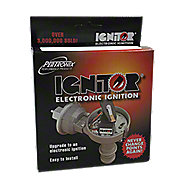 EIGN19 - Electronic Ignition Conversion Kit,   12 volt negative ground 4 Cyl Delco distributor with clips