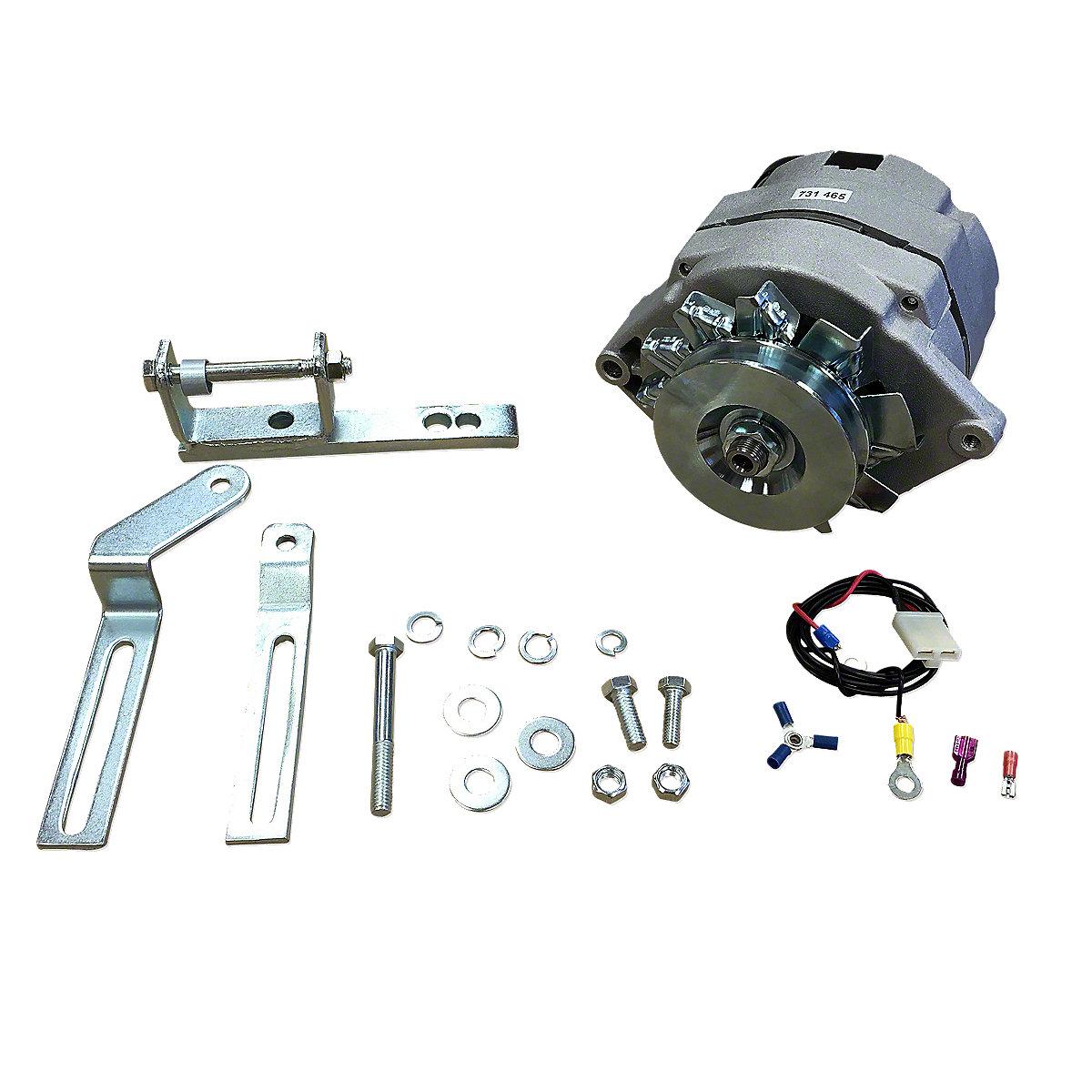 alternator conversion kit for negative ground systems fds3466