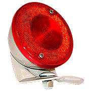 FDS442 - Restoration Quality 6 Volt Duolamp Tail Light Assembly
