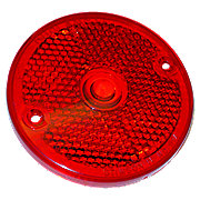 FDS452 - Red Plastic Tail Lite Lense