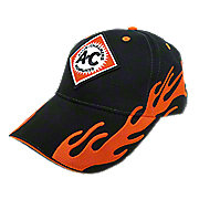 HDSVAFL - Allis Chalmers Hat, Black w/ Orange, Available - Ships direct from manufacturer