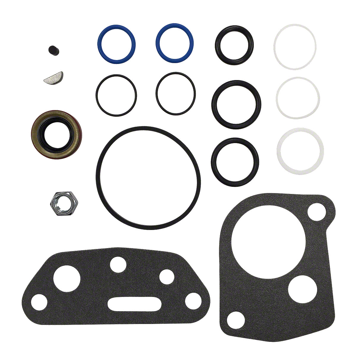 Hydraulic pump gasket and o ring kit ihs3506 for White hydraulic motor seal kit