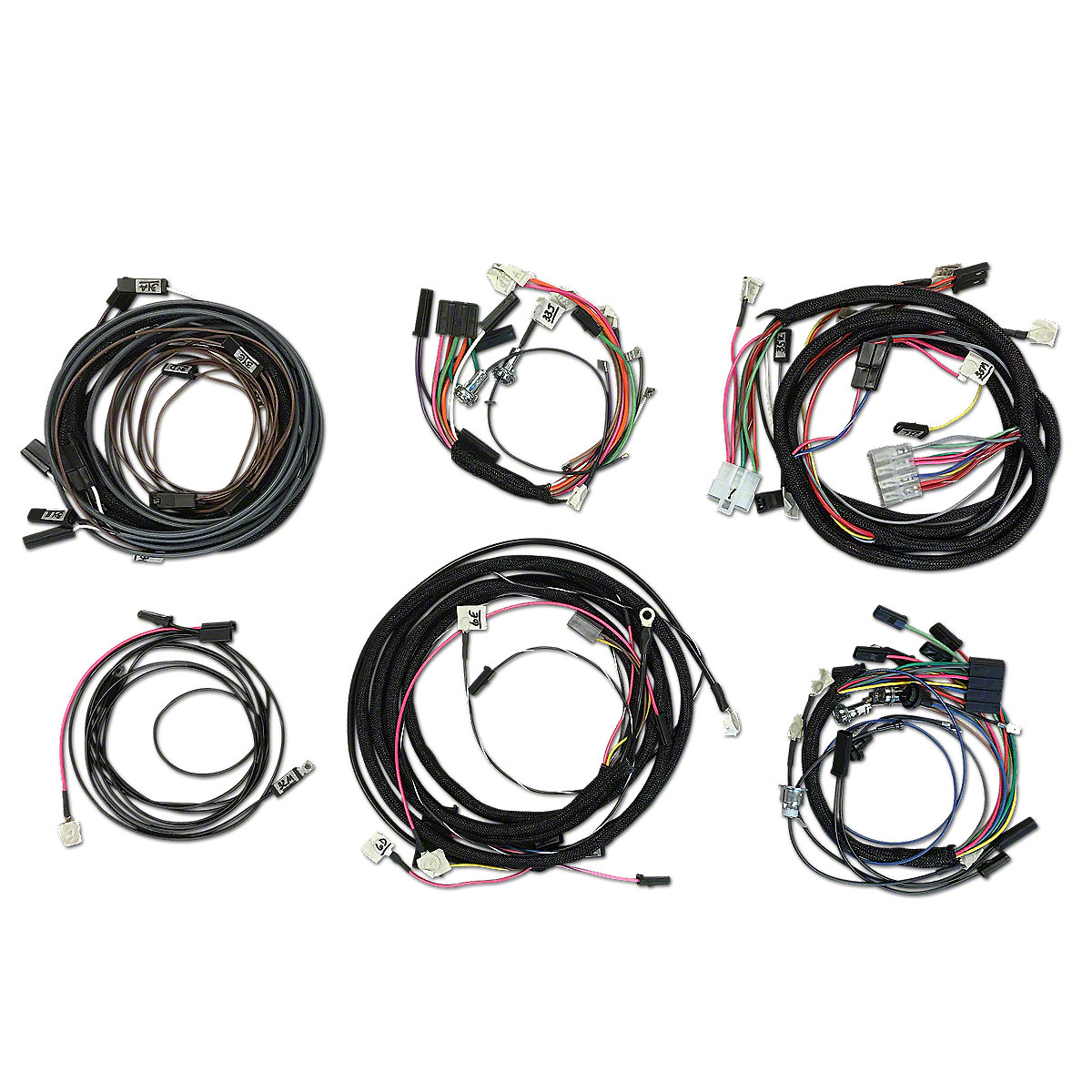 restoration quality wiring harness ihs3552