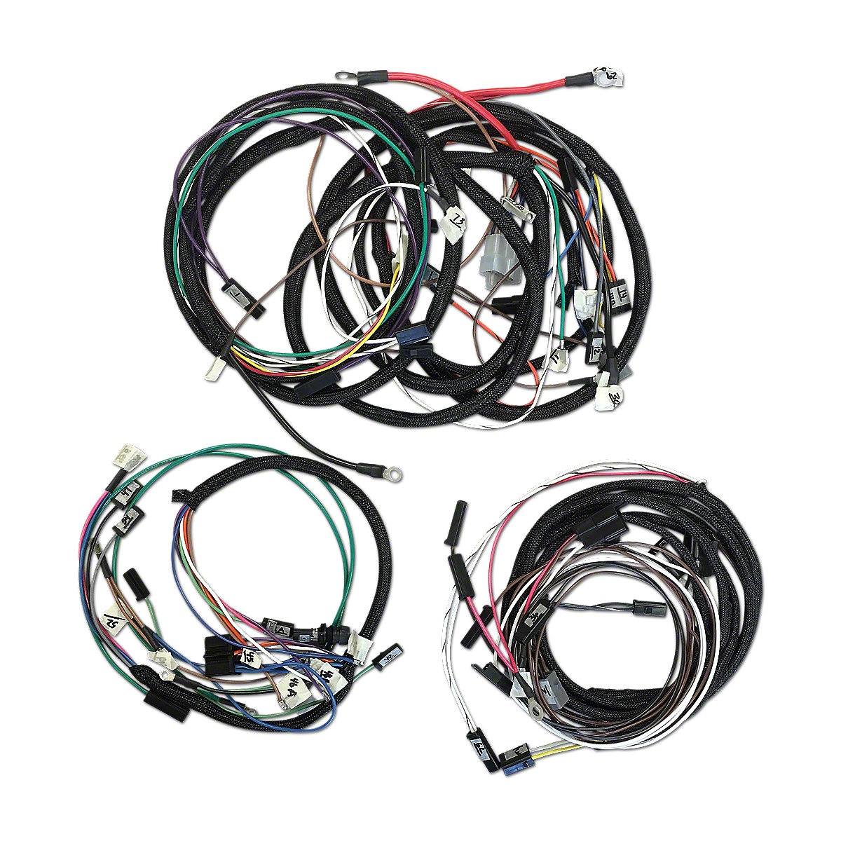 restoration quality wiring harness ihs3555
