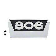 IHS724 - Number Emblem