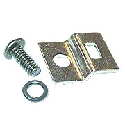 IHS737 - Distributor Cap Spring Clip Bracket & Screw With Lock Washer