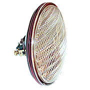 IHS899 - 12-volt Sealed-Beam Combination Rear Lamp w/ transparent red background using separate bulb