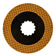 JDS1076 - PTO Clutch Plate (with facing) -- Fits JD 50, 60, 520, 620 & more!