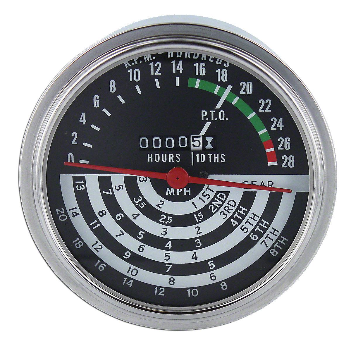 Tractor Hour Meter Gauges : John deere speed hour meter jd tachometer