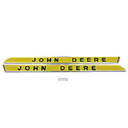 JDS307 - Side Moldings, Raised Letters: Fits JD New Generation 1010-5020 (Pair)