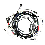 JDS3825 - Restoration Quality Wiring Harness for Tractors Using 1 Wire Alternator