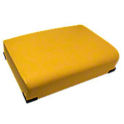 JDS487 - Float Ride, Yellow, Bottom Seat Cushion with internal steel springs