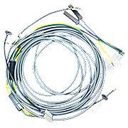 JDS920 - Headlight Wiring Harness Kit for 4 light flat top fenders