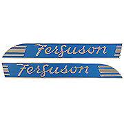 MFS066 - Massey Ferguson Side Emblems for TO20, TE20, TEA20