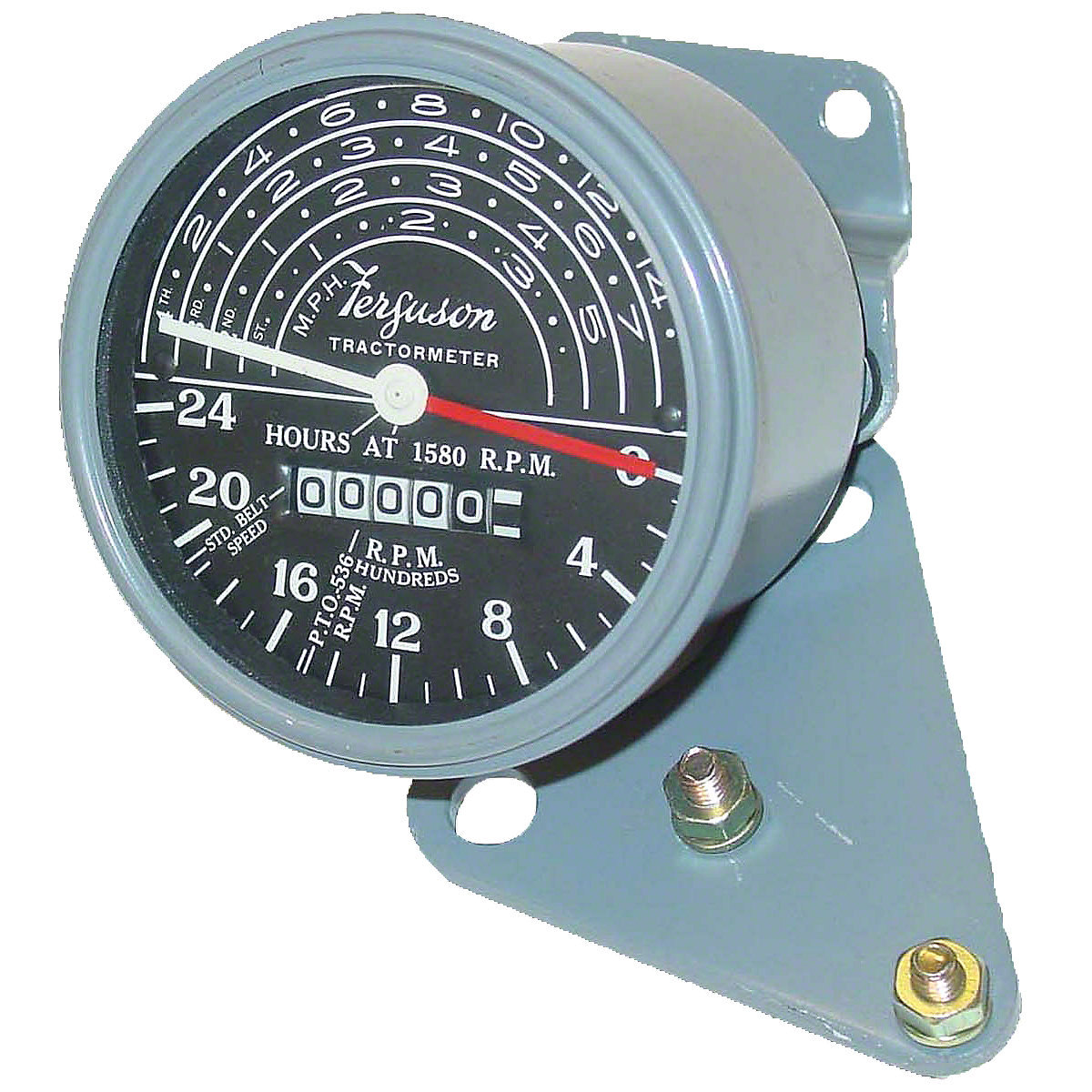 MFS145 MF TO20 & TO30 Tachometer With Mounting Brackets