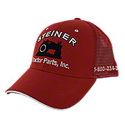 MIS126 - Red Mesh Cap, Steiner Tractor Parts, Inc. Baseball Hat