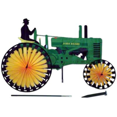 MIS134 - Tractor Spinner (Yard Ornament designed as fits John Deere)