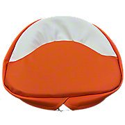 MIS3204 - Orange and White Seat Pad - 21""