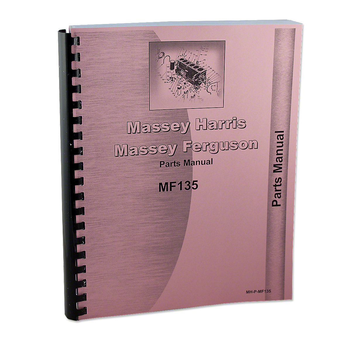 REP1819 Massey Ferguson 135 Gas And Diesel Parts Manual