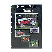 VID11D - How to Paint a Tractor - Video (DVD)