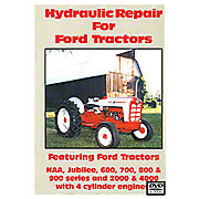 VID18D - Hydraulic Repair, Ford Tractor Video (Dvd)