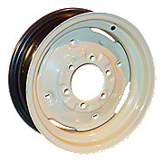 "WHS043 - 6"" x 16"", (6 Lug)  Front Wheel w/ (4) Wheel Weight Holes"