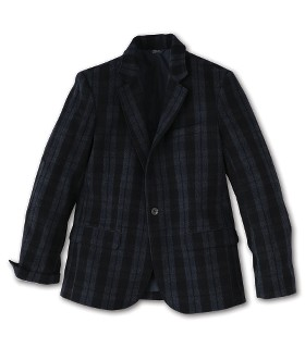 Victorinox Swiss Army - Apparel - Wool Tartan Blazer :  wool collar clothing neutrals