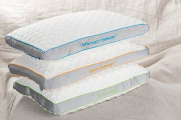 A qulaity pillow contributes to a good nights rest!