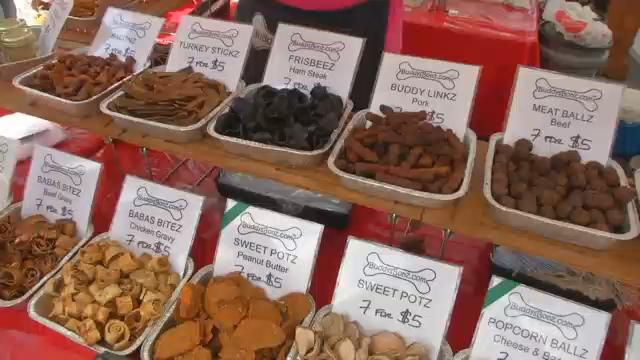 Vendors Show Off Unique Products at Pecan Street Festival