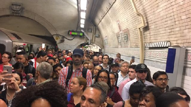 Debris On Tracks Prompts Service Changes, Delays On Several Subway Lines